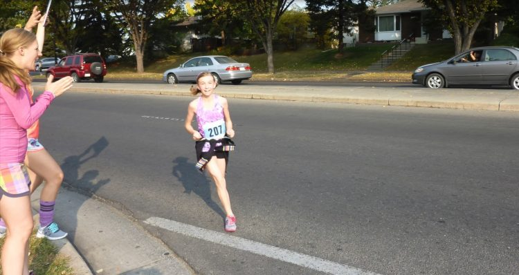 Colette cross country running