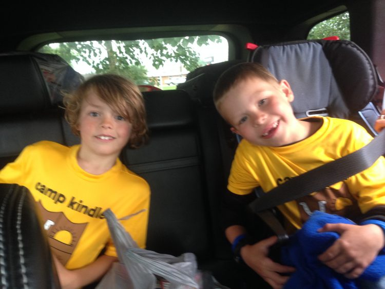 Mason and Bennett have attended camp every summer since Mason's diagnosis.